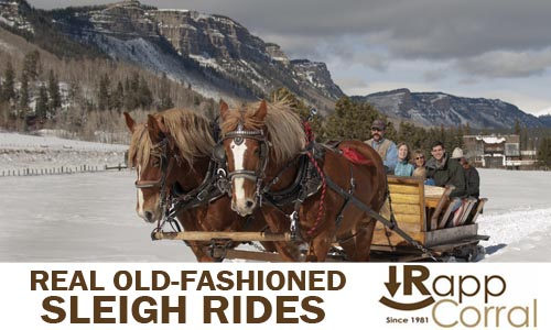 -- Sleigh Ride at Rapp Corral. The Loftis Family takes a sleigh ride to celebrate Juliet's 4th Birthday.